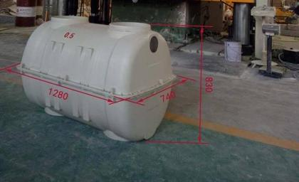 Fiberglass Septic Tank   Easy Installation - Atanistank