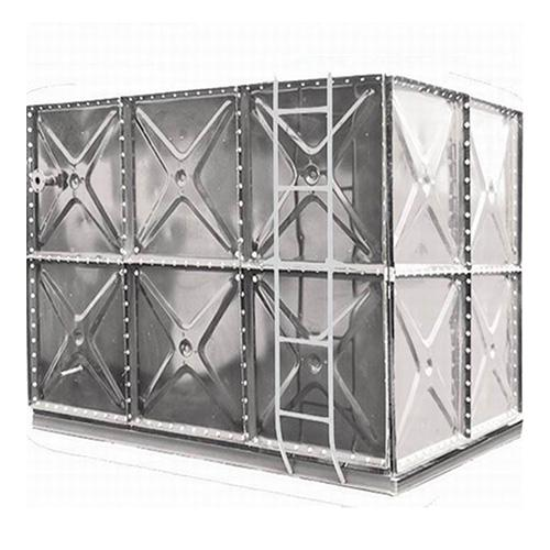 Galvanized Pressed Steel Sectional Water Tank | Easy Installation